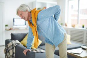 older man back pain