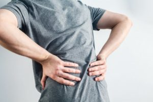 patient who suffers from low back pain